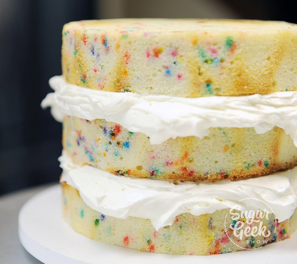 funfetti sculpted cake recipe