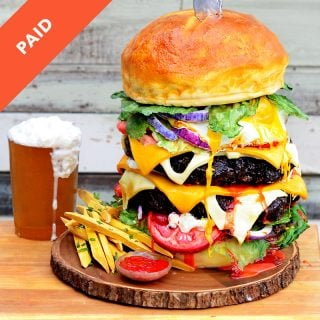 Hamburger Cake with Beer Gummy Tutorial