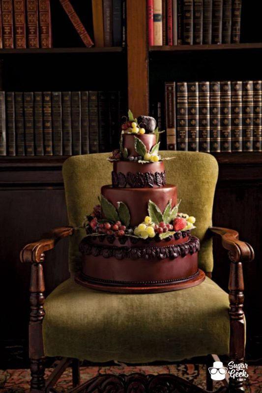 Oregon Bride Magazine Cake