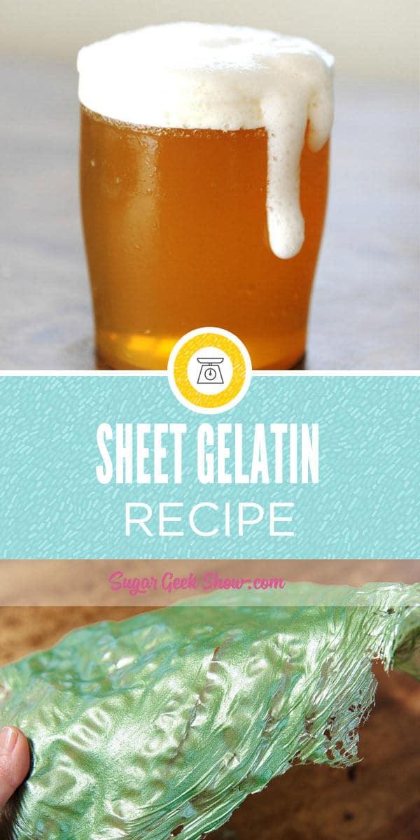 Sheet Gelatin Recipe