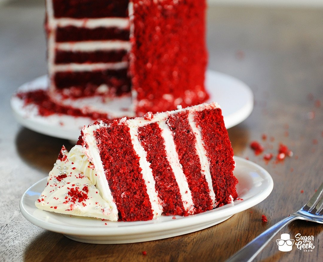 real red velvet cake recipe