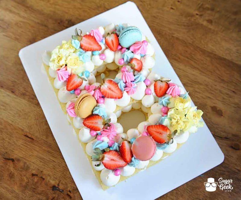Almond Buttercream Cake Recipe