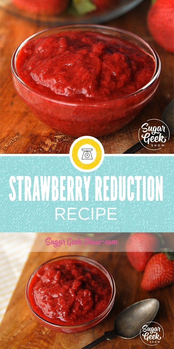 strawberry reduction