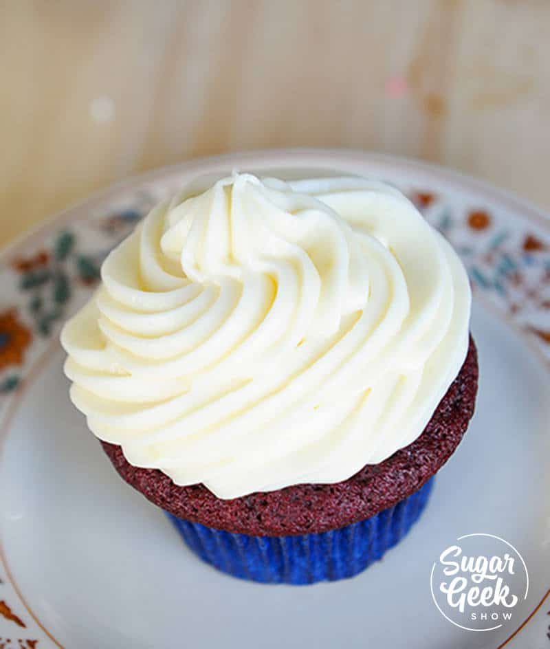 cream cheese frosting for piping