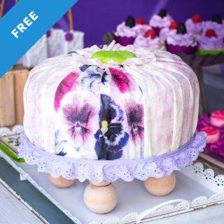 Tuffet Cake Tutorial