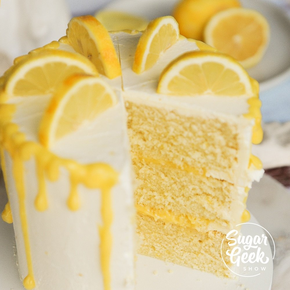 lemon wedding cake recipe from scratch lemon cake recipe from scratch tutorial sugar 16808