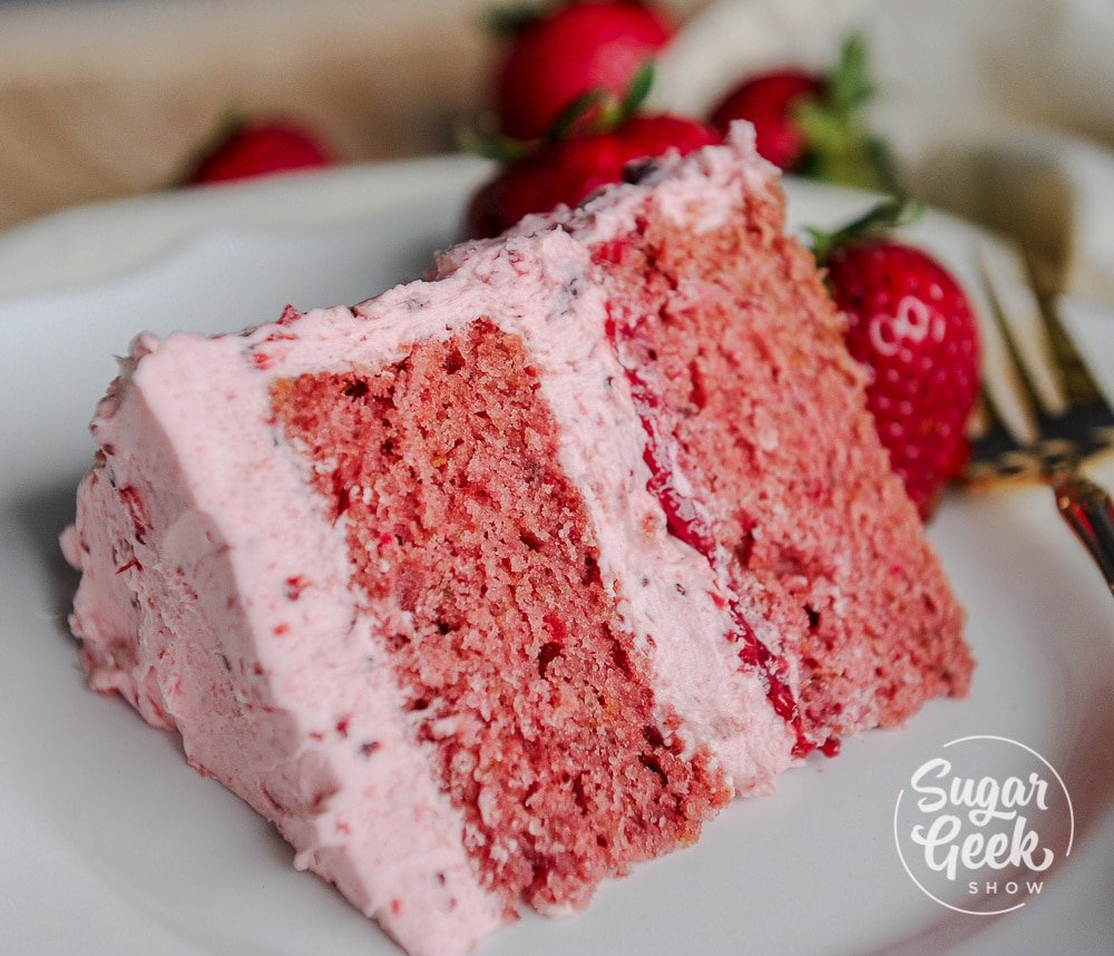 how to make the best strawberry cake