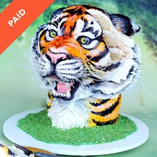 Tiger Cake Tutorial
