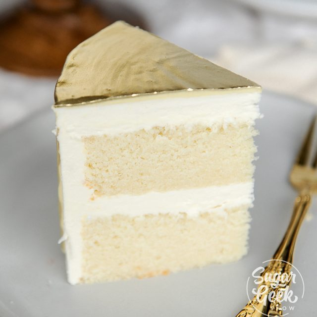 white cake recipe featured