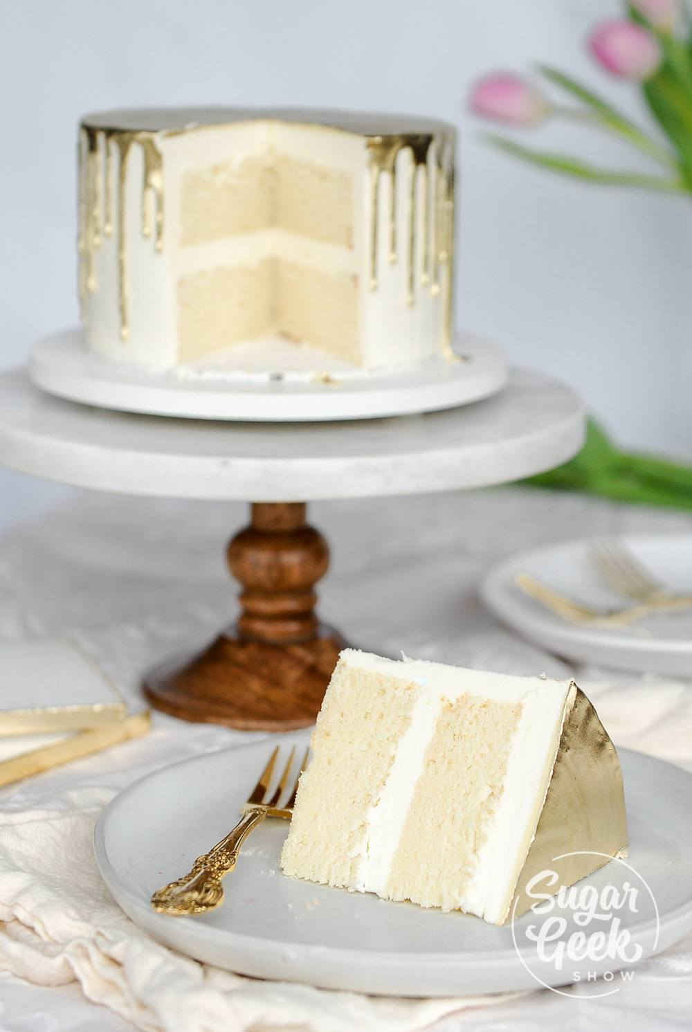Wedding Cake Recipe.White Cake Recipe