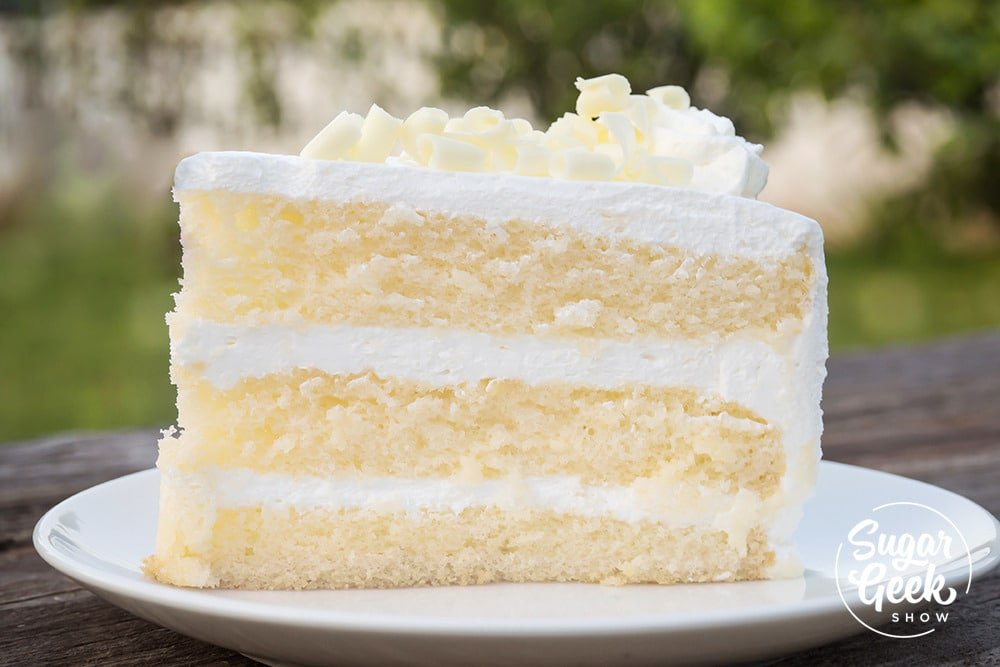White velvet cake (recipe) + color variations | Sugar Geek Show