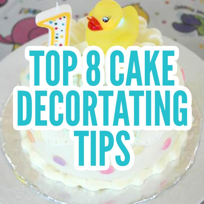 Marvelous 8 Cake Decorating Tips You Need To Know Beginners Sugar Geek Show Funny Birthday Cards Online Inifodamsfinfo