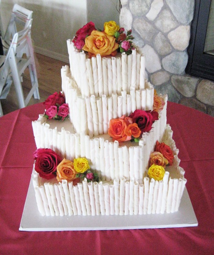 first wedding cakes