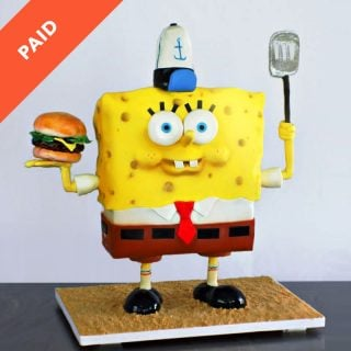 Spongebob Cake Tutorial