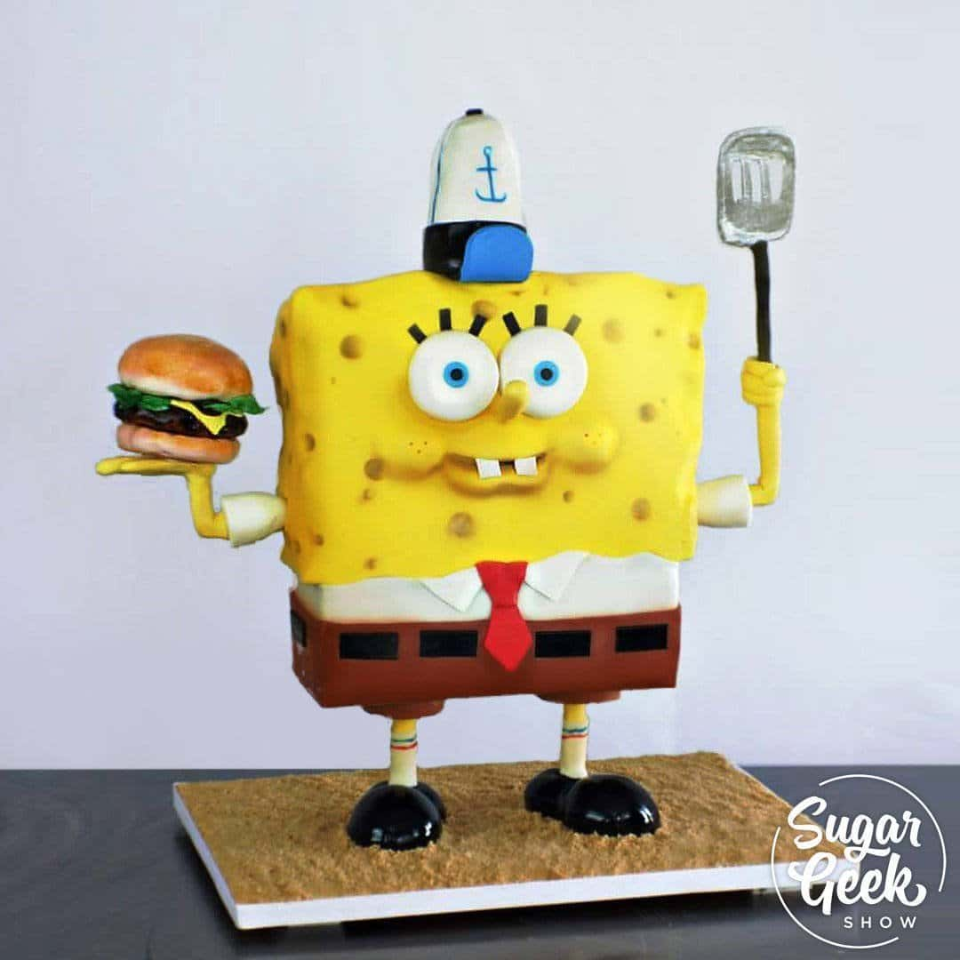 Guest instructor Jessa Coline of Abstract Edible Arts is back once again this time to teach us how to create a Spongebob Squarepants cake. This isn't your average Spongebob cake, complete with Krabby Patty, cook hat and spatula, and all sorts of fun details and additions that make this Spongebob stand out, literally!