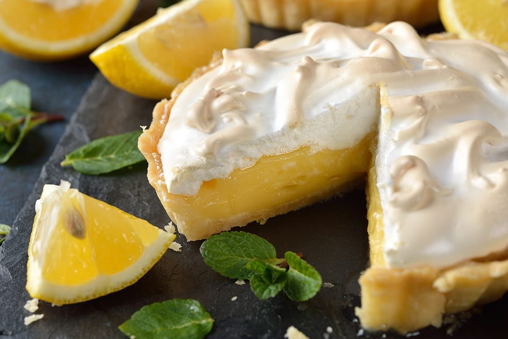 lemon meringue pie crust recipe