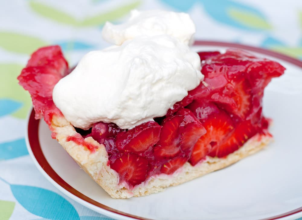 no bake strawberry pie crust