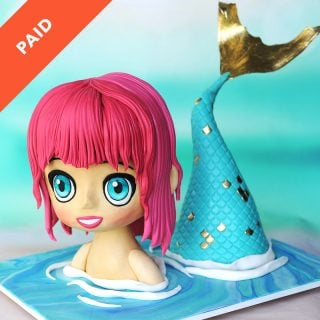 Mermaid Cake Tutorial