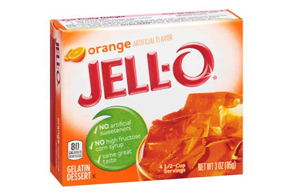 orange jello cake