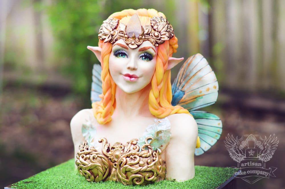 fairy bust cake