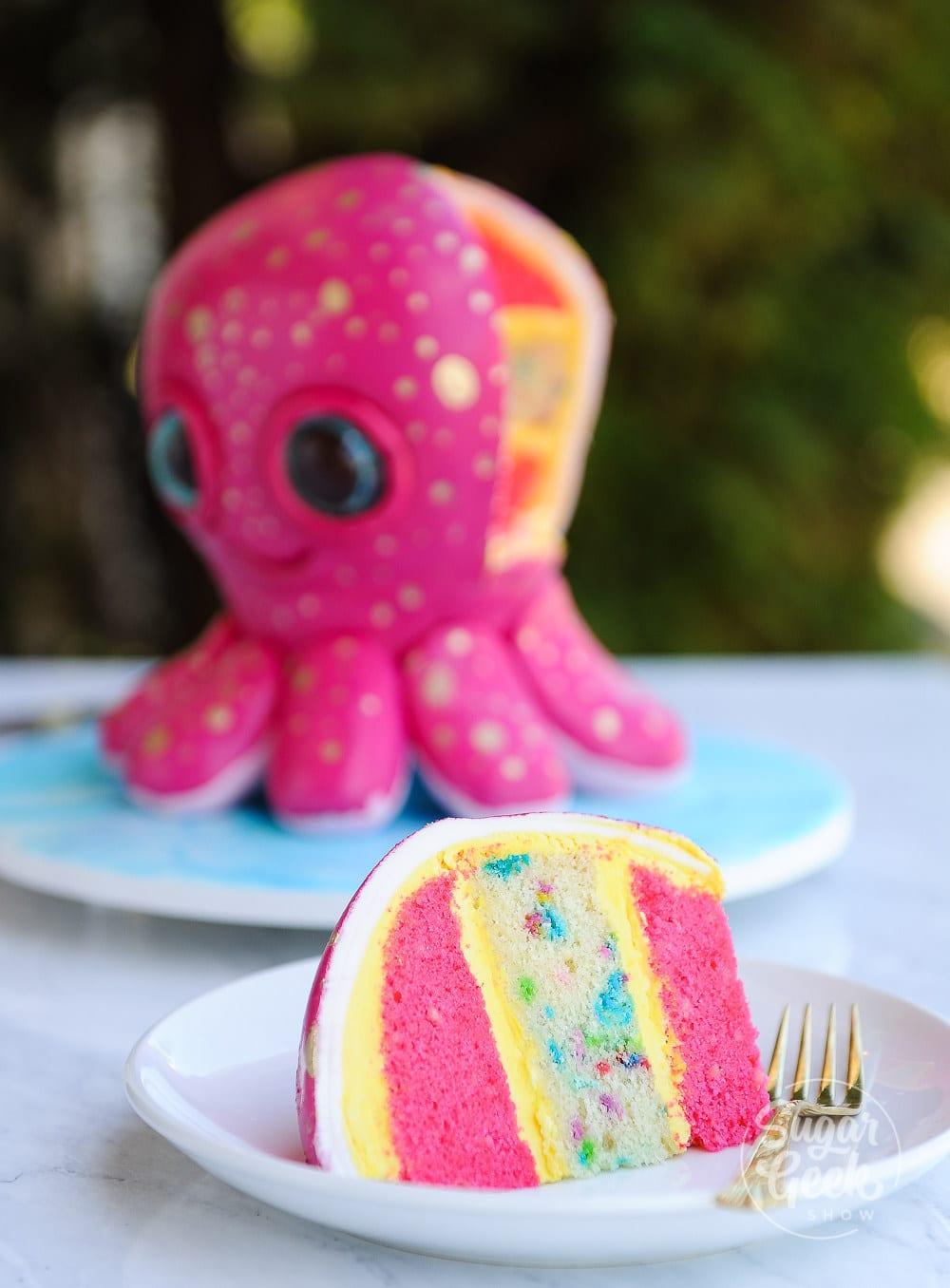 octopus cake tutorial