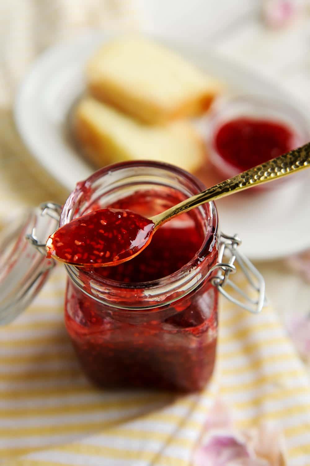 raspberry filling