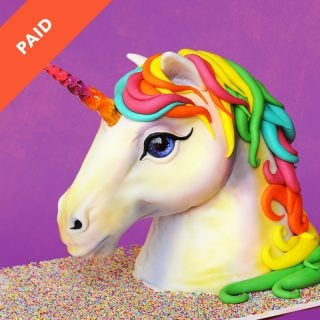 Realistic Unicorn Cake Tutorial