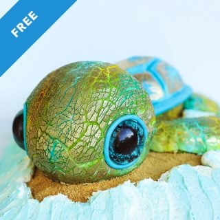 turtle cake tutorial