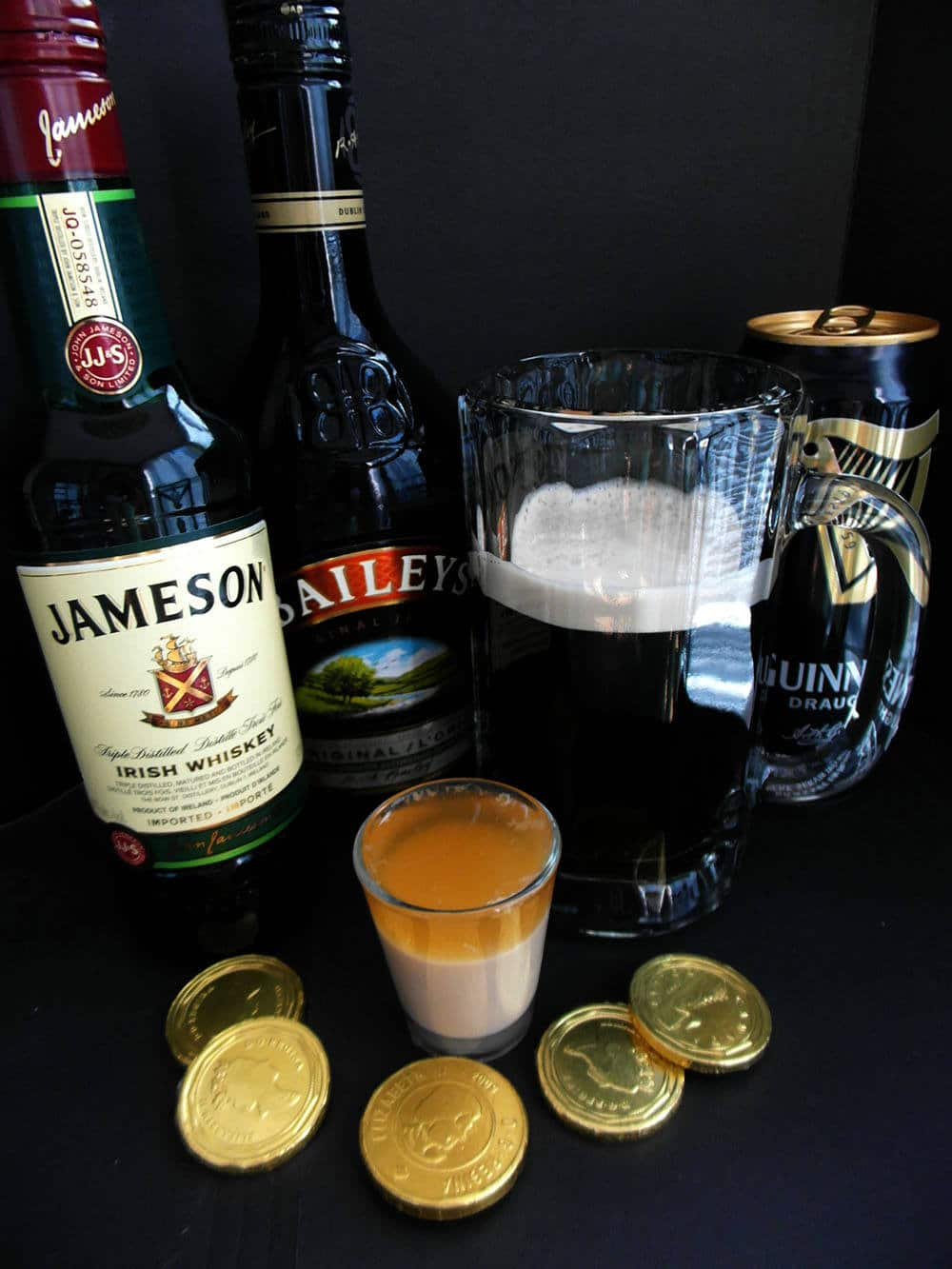 how to make an irish car bomb drink