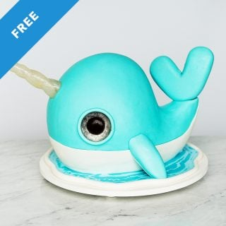 narwhal cake tutorial