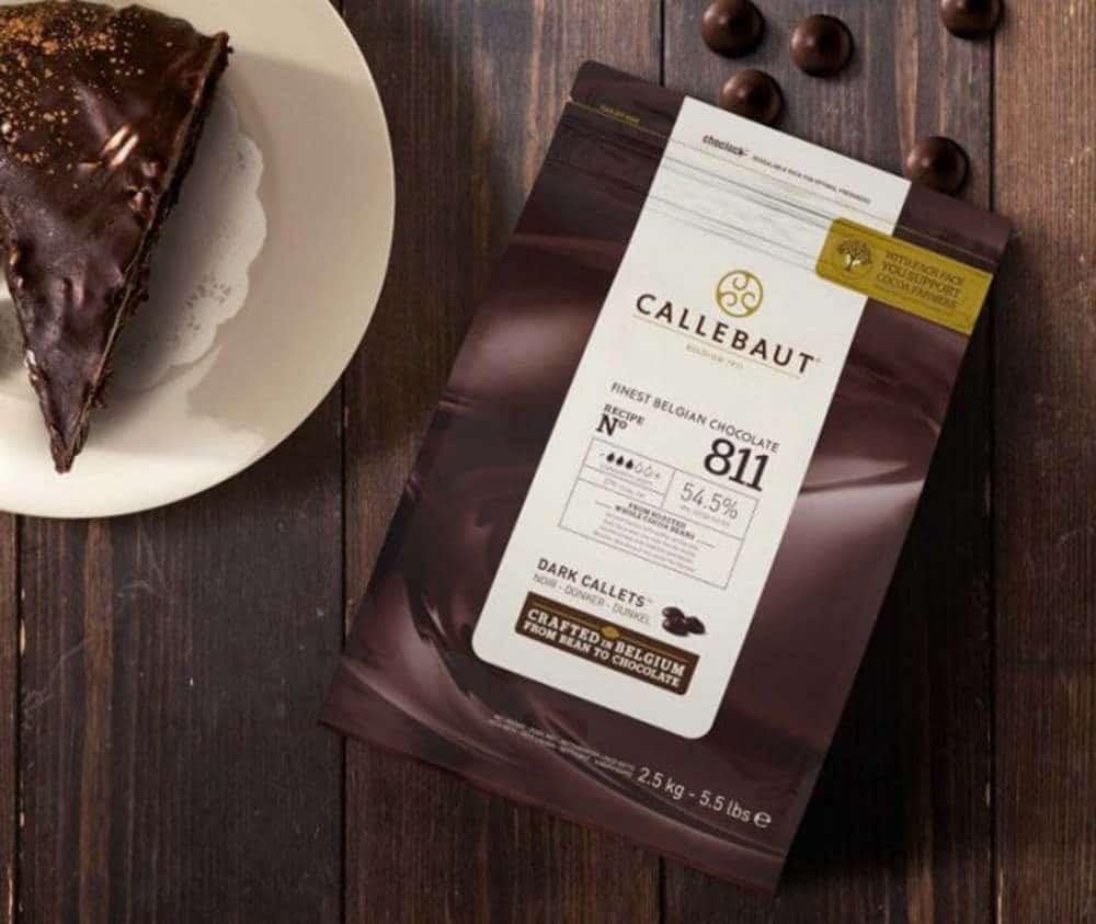 callabaut dark chocolate chips