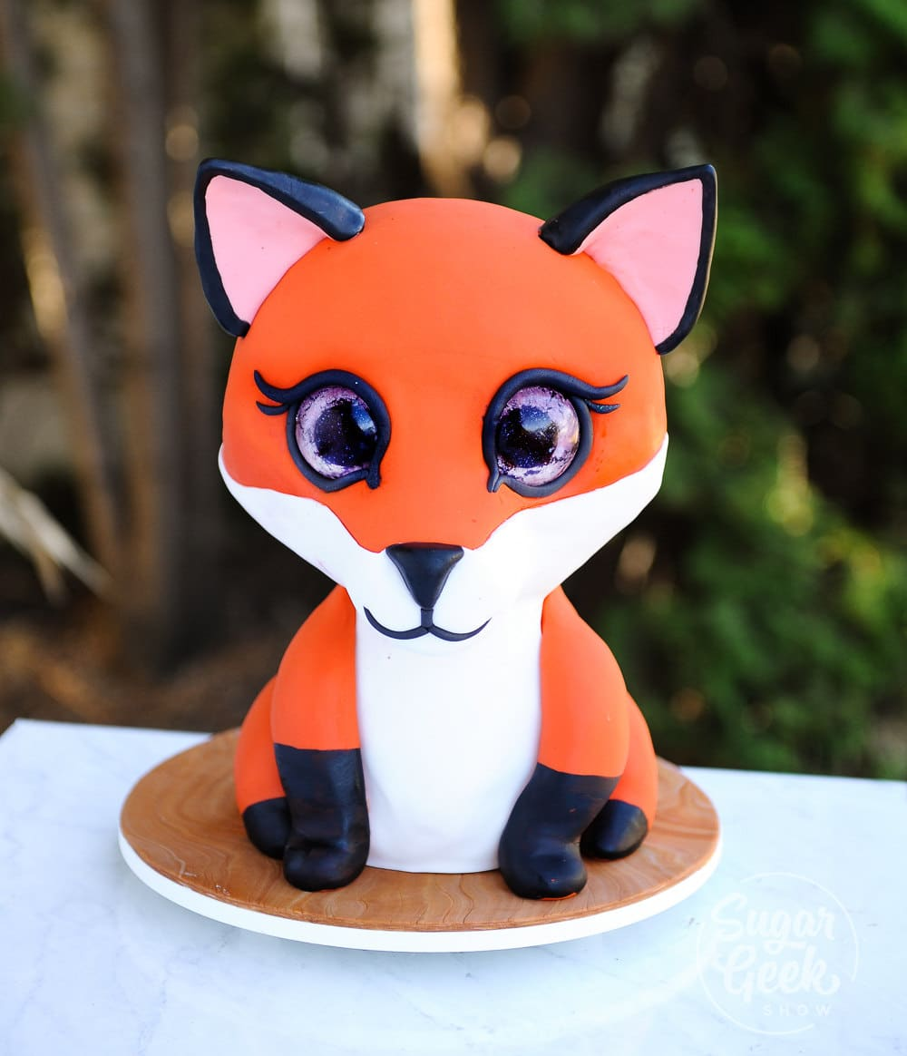 fox cake tutorial