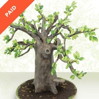 Live Oak Tree Cake Tutorial