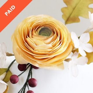 Sugar Flower Ranunculus Tutorial