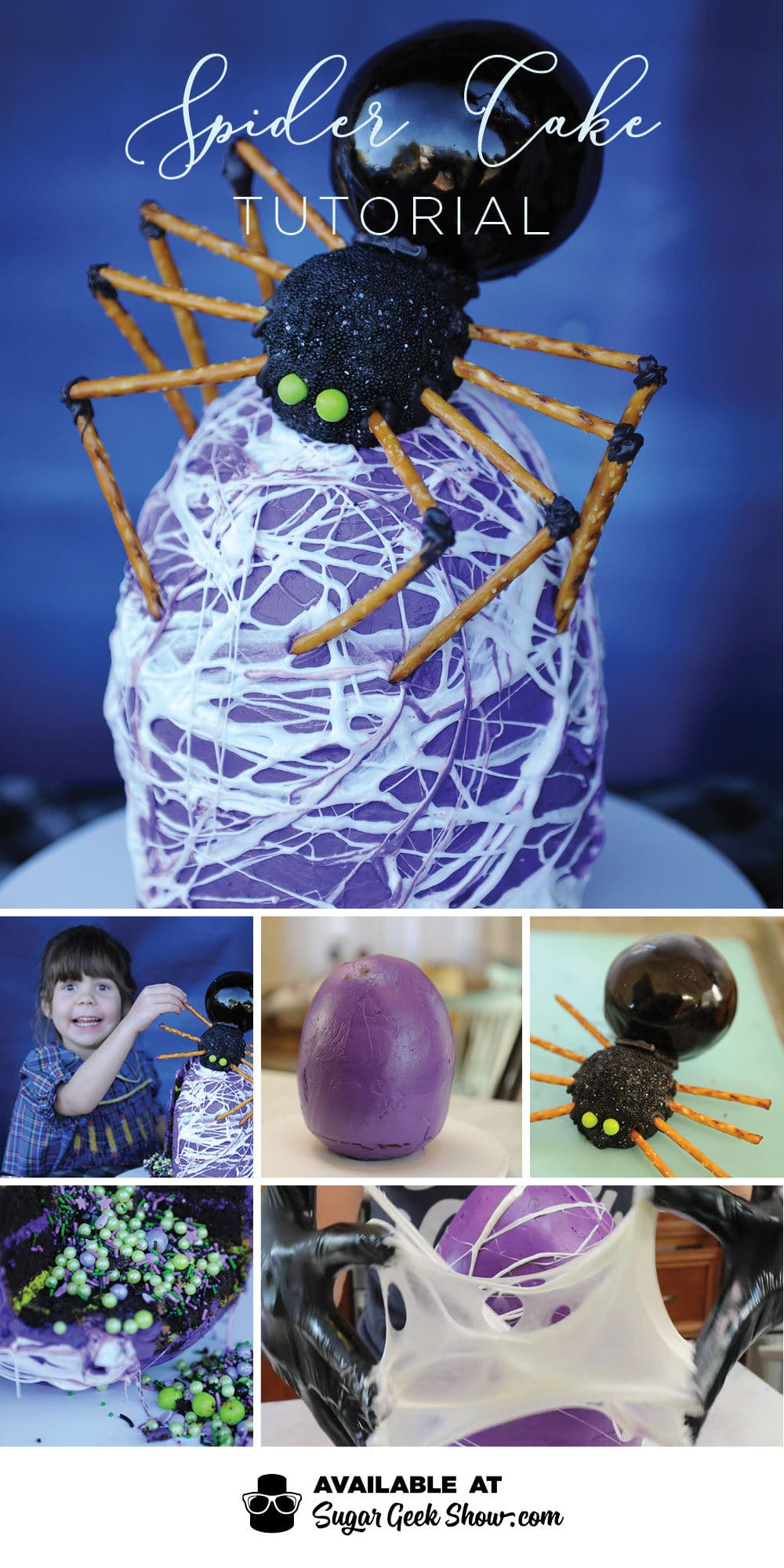 spider cake tutorial