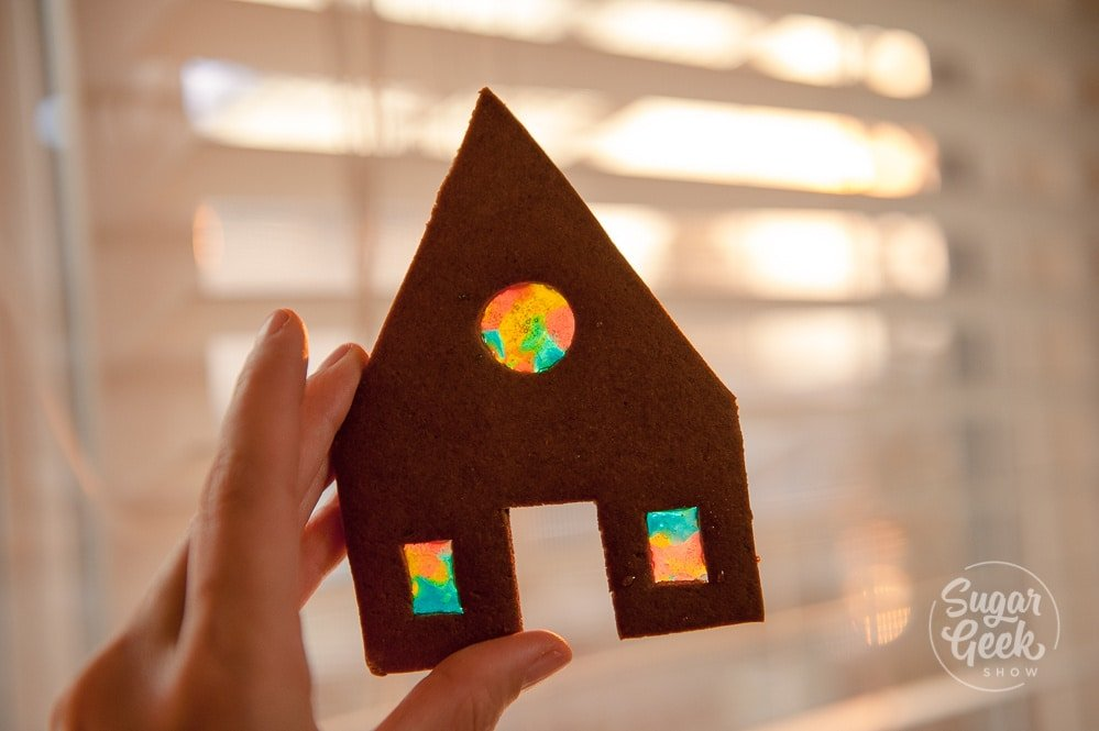 gingerbread house windows