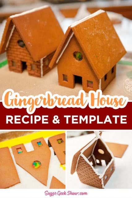 gingerbread house recipe pin