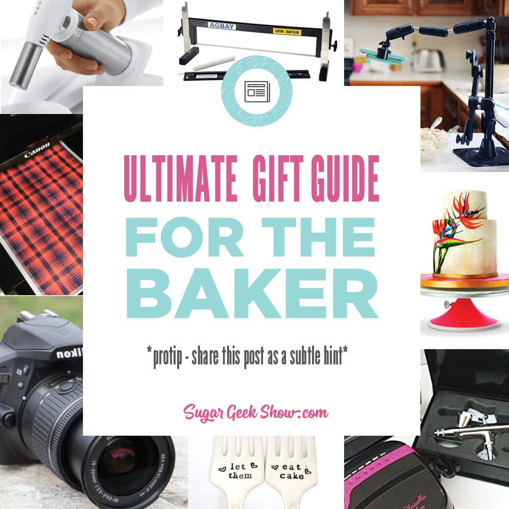 The ultimate guide for awesome gifts for bakers! 28 amazing gift ideas from small to omg I have been wanting one of those for years!