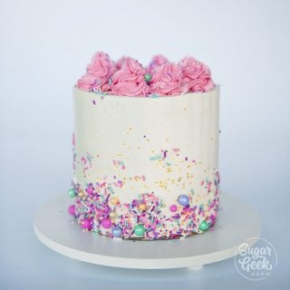 how to make a cake step by step
