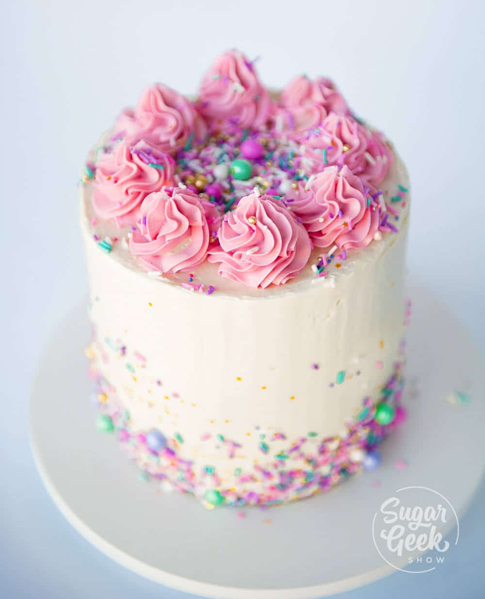 How To Decorate Your First Cake Step By Step Video