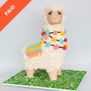 Llama Cake Tutorial