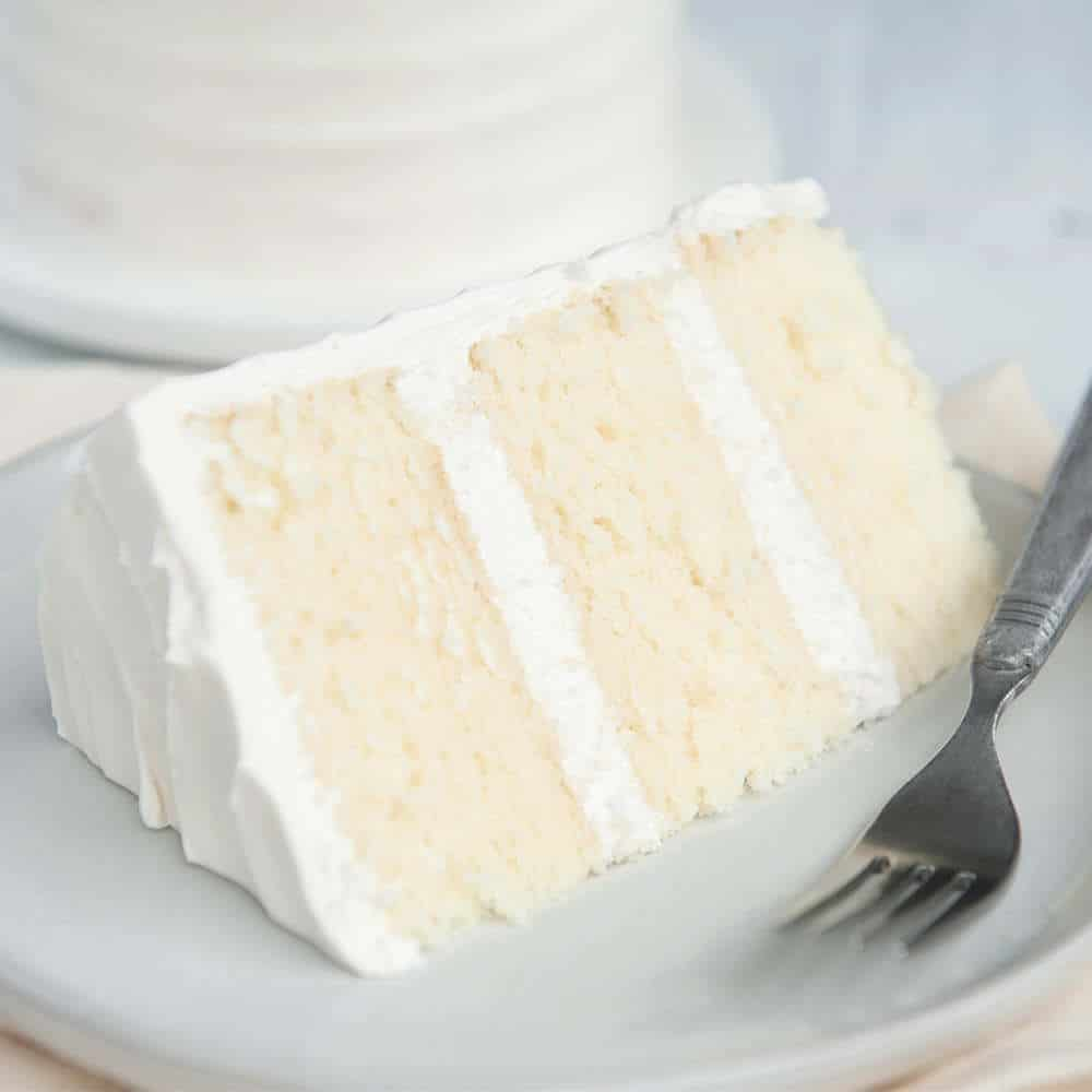 Vanilla Cake Recipe Fluffy Tender Filled With Flavor