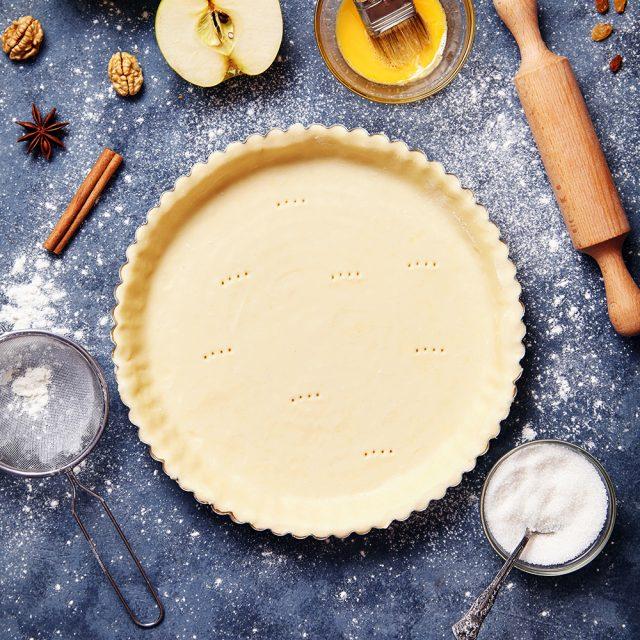 how to make pate sucree tart dough