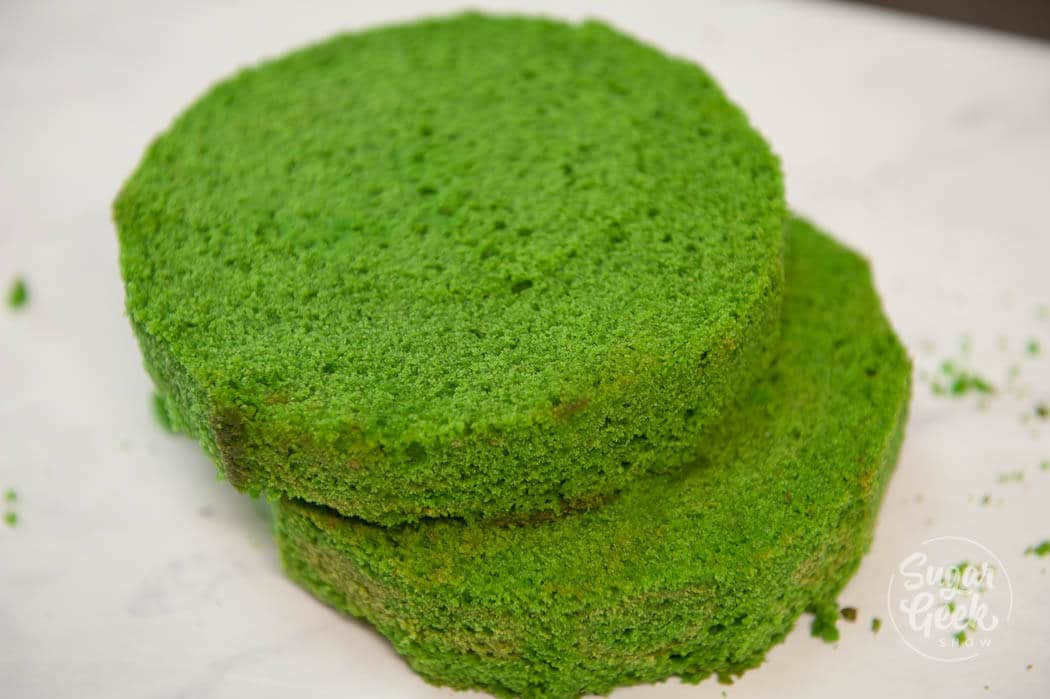 green velvet cake that has a wonderful buttermilk flavor. Soft, tender and delicious cake!