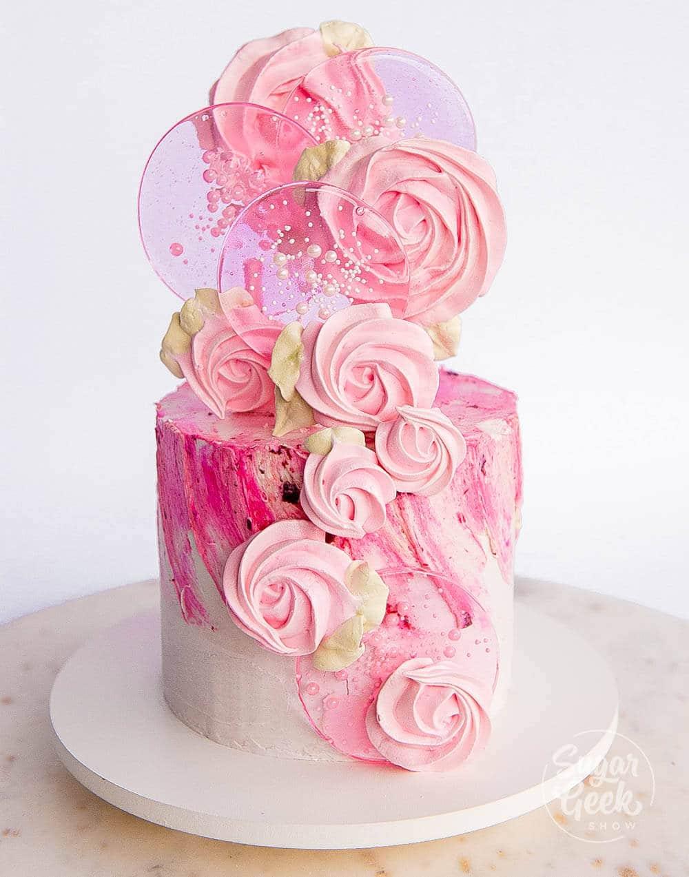 spring pop cake
