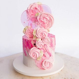 spring pop cake tutorial