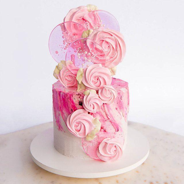 spring pop cake tutorial