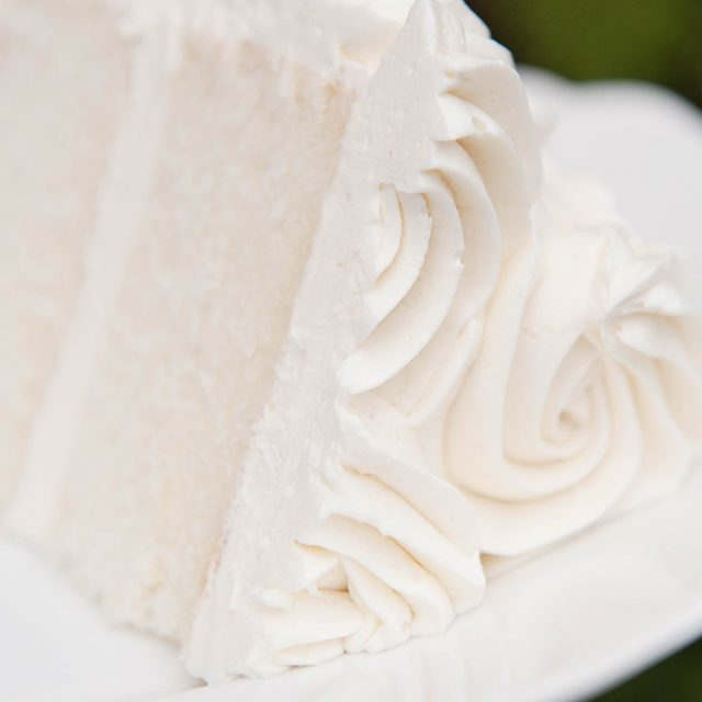 piped ermine frosting