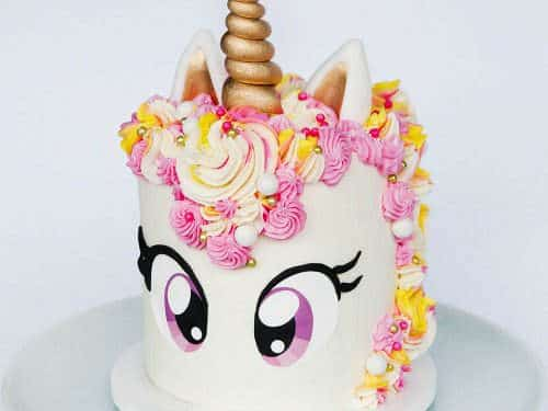 Awe Inspiring Unicorn Cake Tutorial Free Eye Printable Sugar Geek Show Funny Birthday Cards Online Unhofree Goldxyz