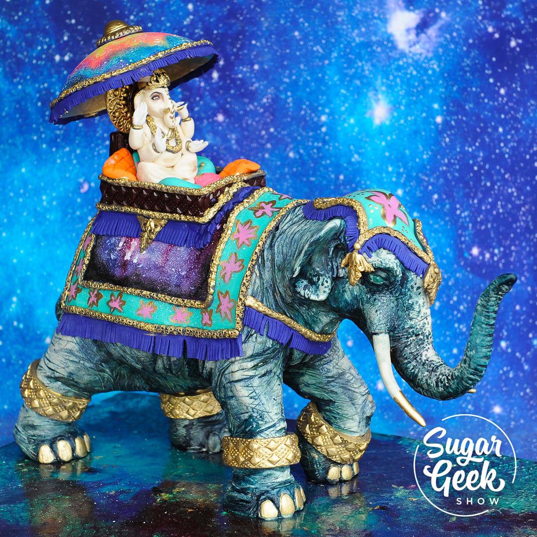Indian Elephant Showpiece Tutorial